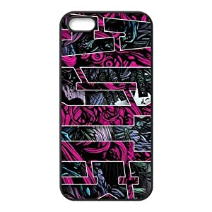 Painted ADTR TPU Hard back phone Case cover Iphone 5s 5