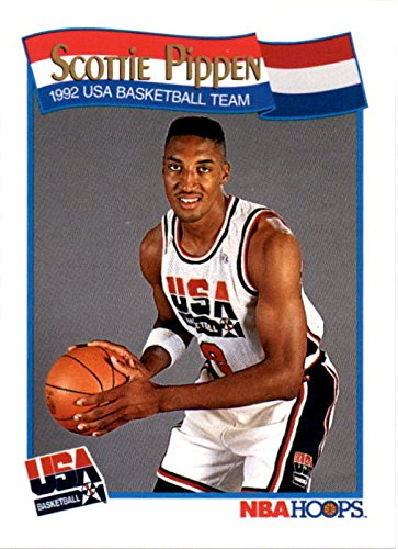 - Scottie Pippen Basketball Card (1992 USA Dream Team) 1991 Hoops #582