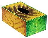 """SouvNear 10"""" Kleenex Tissue box Cover ( Tree of Life ) – Handmade Wooden Rectangular Tissue Box Holder – Home / Office Decor"""