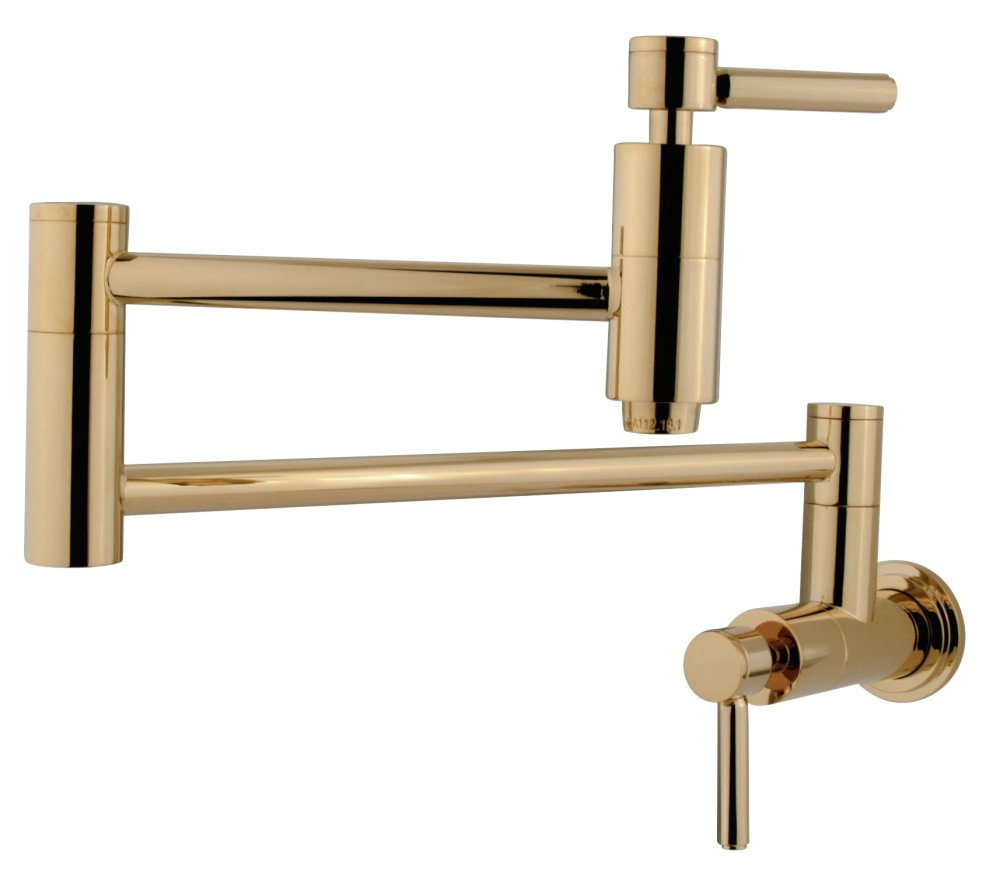 Elements of Design ES8102DL Pot Filler, Polished Brass