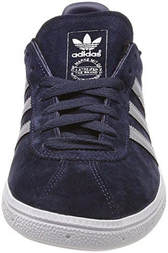 adidas Munchen Mens Trainers Navy Silver - 10 UK countdown package cheap price vZx8H1TBx