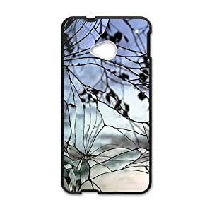 Cracked Glass With Branch Fashion Personalized Phone Case For HTC M7