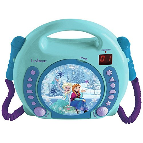 Disney Frozen CD Player with Duel Microphones