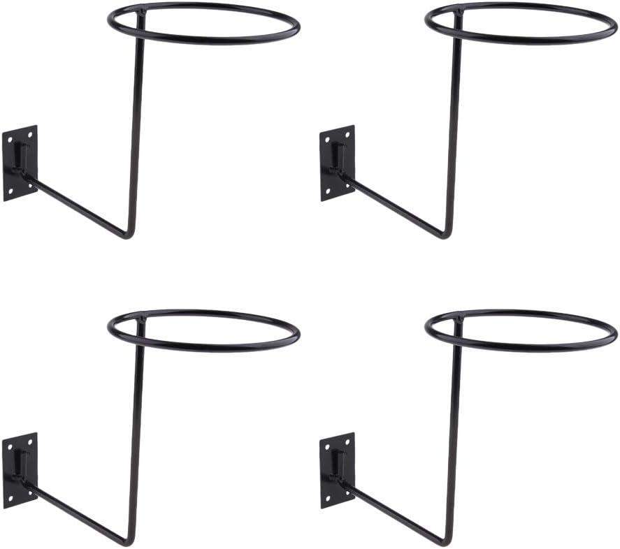 perfk 4 Pieces Portable Helmet Hook Holder Steel Hanger For Headphones Motorcycle Accessories
