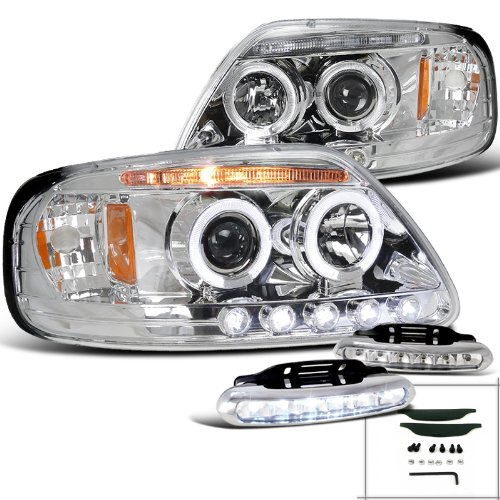 Chrome Projector Headlights Driving Lamps