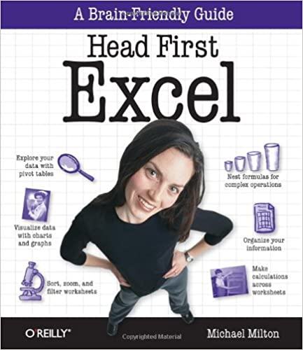 Amazon.com: Head First Excel: A learner's guide to spreadsheets ...