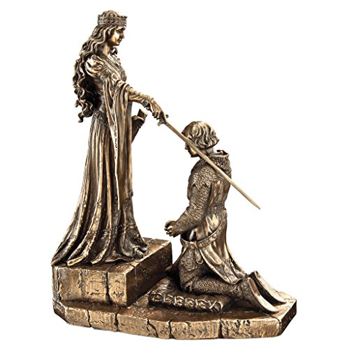 Design Toscano The Accolade Statue, Bronze
