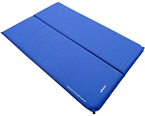 Self Inflating Matras : Lichfield sim self inflating camping mat scuba blue cm amazon