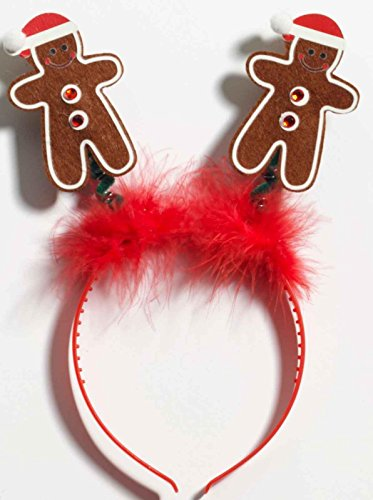 Gingerbread Man Boppers Headband -