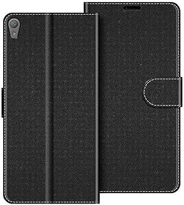 COODIO Funda Sony Xperia E5 con Tapa, Funda Movil Sony Xperia E5 ...