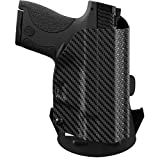 We The People - Carbon Fiber Right Hand Outside Waistband Concealed Carry Kydex OWB Holster Compatible with Beretta PX4 Storm Compact 9mm Gun