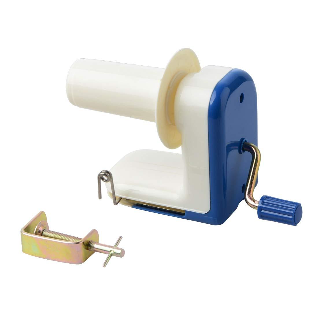 Sewing Tools Accessory - Portable Swift Yarn Fiber Winder Hand Operated Wool Holder String Ball Thread Skein Household Blue - Yarn Yarn Big Loom Wheel Winder Cotton Machine YarnSewing