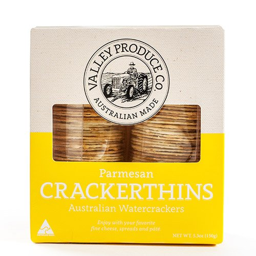 Crackerthins Australian Watercrackers - Parmesan (5.3 ounce) VPC