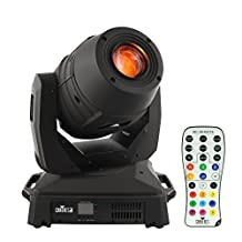 Chauvet Intimidator Spot 455Z IRC 180W LED-based Moving-head Spotlight Lighting Fixture and IRC-6 Remote Bundle