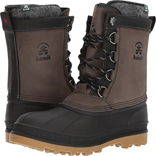 Kamik William Winter Boot - Men's Charcoal, 13.0