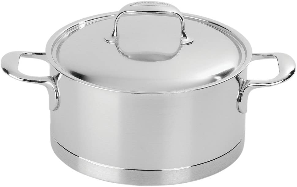 Demeyere Atlantis 7-Ply Stainless Steel Dutch Oven, 5.5-qt