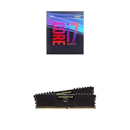 Amazon com: Intel Core i7-9700K Desktop Processor 8 Cores up to 4 9