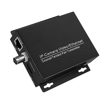 Amazon.com: Extensor coaxial, extensor de IP Ethernet, 1 par ...