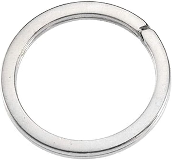 5mm Sterling Silver Split Ring 21GA-.925 Sterling Genuine-Jewelry Finding