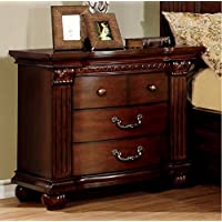247SHOPATHOME Idf-7736N, nightstand, Cherry