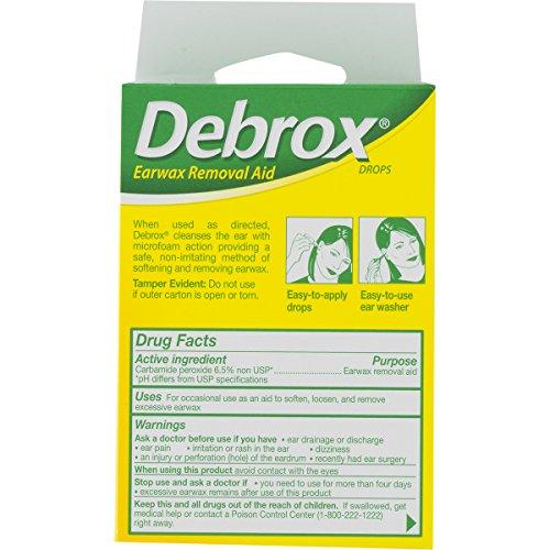 Debrox Drops Earwax Removal Aid kit