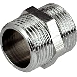 3/4 INCH THREAD PIPE CONNECTION MALE x MALE SCREWED NIPPLE by plumbing4home
