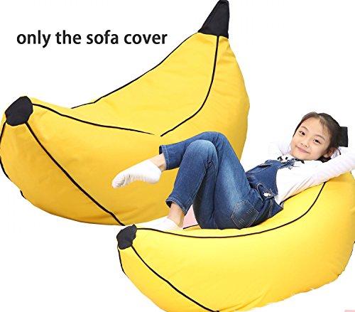 Price comparison product image QuWei Bean Bags Chair Creative Cartoon Banana DIY Comfortable Mini Sofa Indoor / Outdoor Soft Floor Cushion