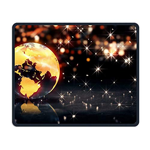 Computer Gaming Mouse Pad Earth Background Loop Animation