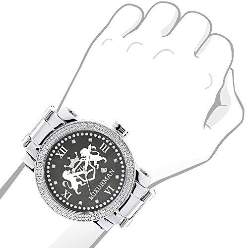 Men's Phantom Luxurman Watch by Luxurman (Image #2)