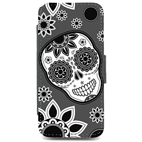 iPhone 5/5S Mexikanischer Totenkopf Motiv funky retro Tasche mit Muster