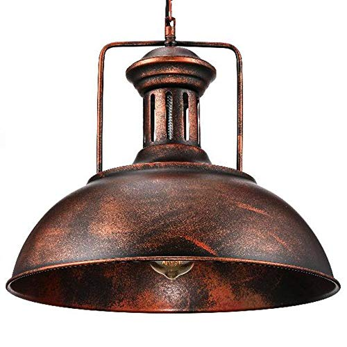 (Industrial Nautical Barn Pendant Light - LITFAD 16