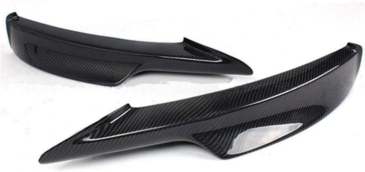 Nologo Royal Star TY Auto 2PCS Reale in Fibra di Carbonio del respingente Anteriore Splitter Lip diffusore Proteggi for BMW E90 E91 335i 328i LCI M-Tech Bumper