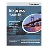 INKPRESS MEDIA 215 GSM, 12 Mil, 95 Percent Bright, Double Sided Photo Paper (#PP80111450)