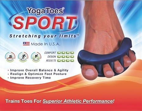 Amazon.com: YogaToes Sport – Small Green: Train Your Feet ...