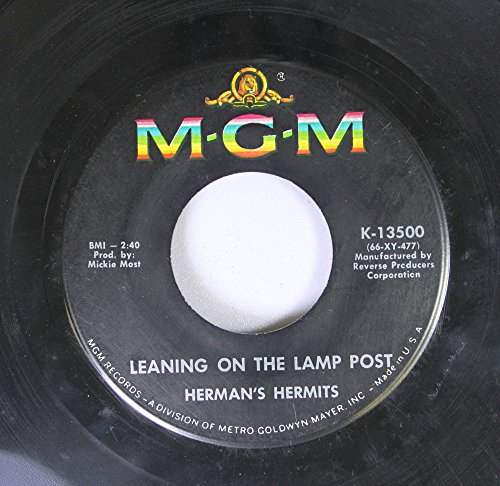 Herman's Hermits 45 RPM Leaning On The Lamp Post / Hold On!