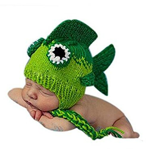 A-cool Fashion Unisex Newborn Boy Girl Crochet Knitted