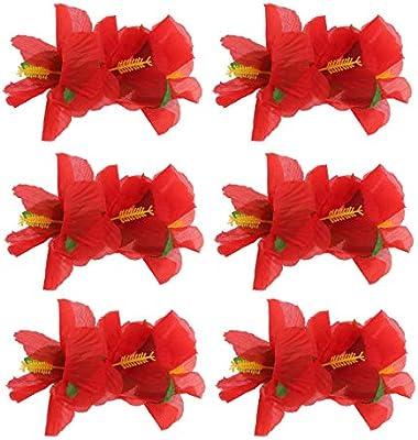 Chiffon Petals Poppy Fabric Hair Flowers For Hair Accessorie Hair Clips 30pcs
