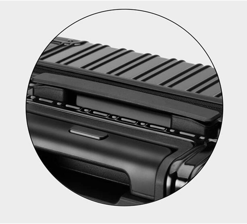 Qzny Suitcase Color : A, Size : 452765cm Ultra-Light Zipper Trolley Case Universal Wheel Travel Box College Student Suitcase Small Fresh Men Women Luggage Large Capacity