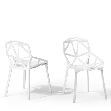 Indoor Aver Langlebig Design Stuhl Kunststoff – Outdoor Weiß f6gyvYb7