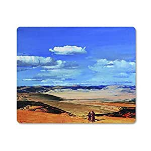 "DecorSource Blue Sky and White Clouds Rectangular Mouse Pad 9""*7"""