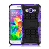 Galaxy A5 (2015) Case - ALLIGATOR Heavy Duty Rugged Double Protection Back Cover for Samsung Galaxy A5 (2015), Purple