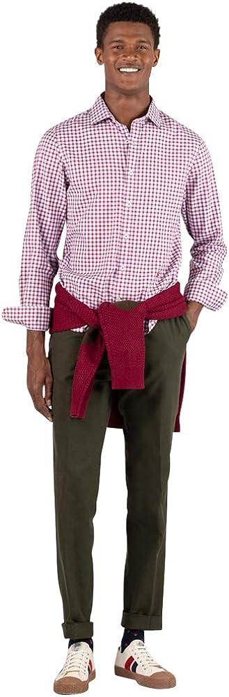 El Ganso Urban Oxford Camisa casual, Rojo (Granate 0028), Medium para Hombre: Amazon.es: Ropa y accesorios