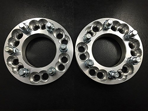 4X WHEEL RIM ADAPTERS SPACERS 6X5.5 (6X139.7) & 6X135 TO 6X5 (6X127) 2 INCH by Customadeonly (Image #4)