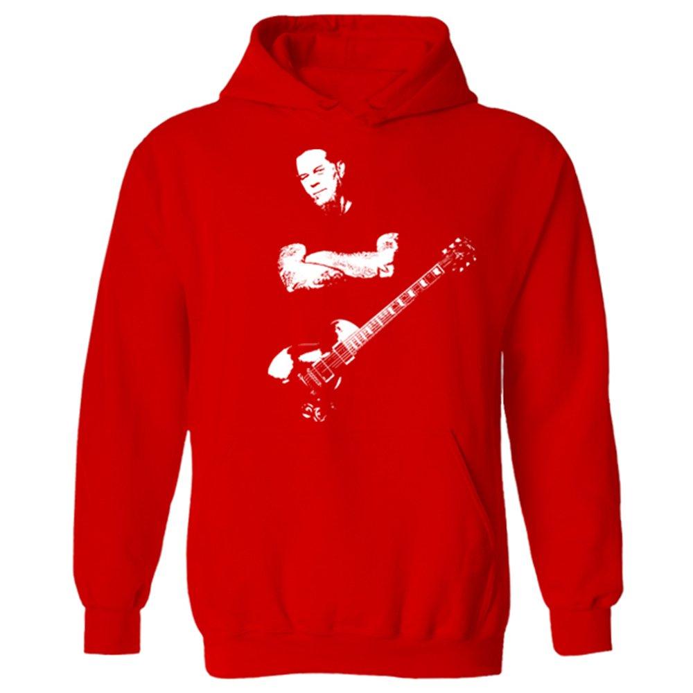 para Hombre James Hetfield Iconic Rock Metallica Sudadera con Capucha: Amazon.es: Ropa y accesorios