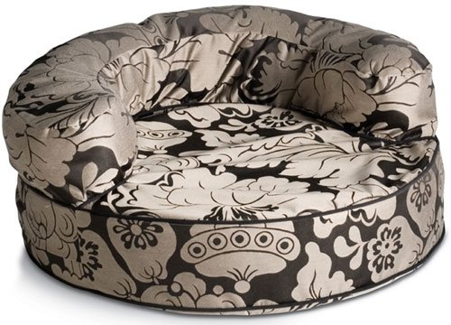 Licorice Melrose Bolster Pet Beds (Molly B) (Round Bolster Medium (36