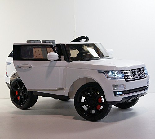 Kids ride on car SUV! NEW LAND ROVER STYLE with double motors. battery 1x12V-7Ah. children's power wheels. opening doors. Electric car PARENTAL REMOTE CONTROLLER