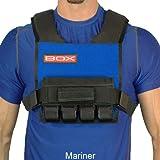 BOX 20LB Super Short Weight Vest - Made in USA (Mariner)