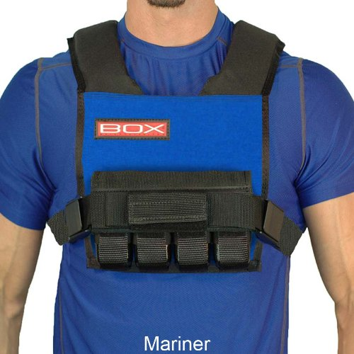 BOX 20LB Super Short Weight Vest - Made in USA (Mariner)
