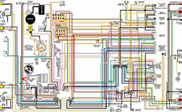 Amazon.com: Full Color Laminated Wiring Diagram FITS 1956 Lincoln Large 11