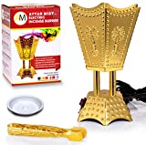 Electric Incense Bakhoor Burner Gold, 110V by Attar Mist